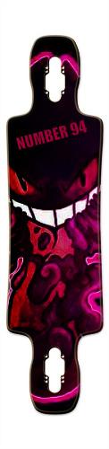 Gengar Gnarlier 38 Skateboard Deck v2
