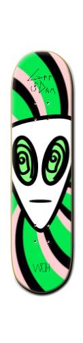 Trip Alien FAR OUT Banger Park Skateboard 8 1/4  x 32