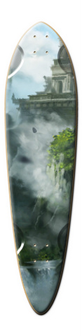 Temple Dart Skateboard Deck