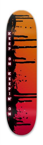 Keep On Park Skateboard 7.88 x 31.495