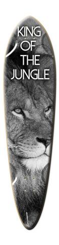 King of the Jungle Dart Skateboard Deck