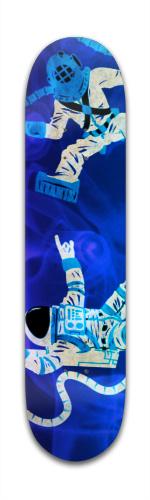 Space Or Sea Banger Park Complete Skateboard 7 3/8 x 31 1/8