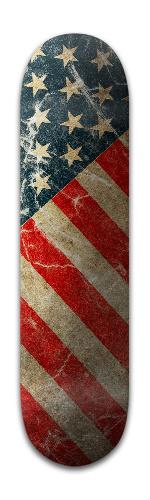 American Grunge Banger Park Skateboard 8 x 31 3/4