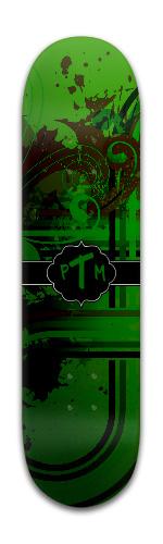 PieTie Banger Park Skateboard 8 x 31 3/4