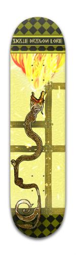 Dragon Lore Banger Park Skateboard 8 x 31 3/4
