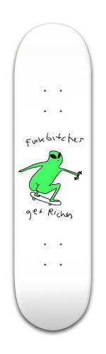 ayy lmao Banger Park Skateboard 8 x 31 3/4