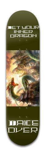 Dragon Skateboard Banger Park Skateboard 8 x 31 3/4