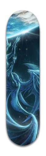 A Dragon of Space Banger Park Skateboard 8 x 31 3/4