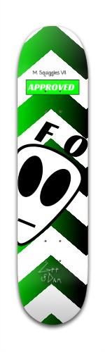 GEE DAM Farout I Banger Park Skateboard 7 3/8 x 31 1/8