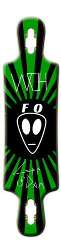 WOH FO Alien Longboard B52