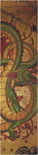 Come Forth Eternal Dragon Custom skateboard griptape