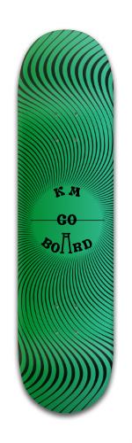 'Greenie' Banger Park Skateboard 8 x 31 3/4