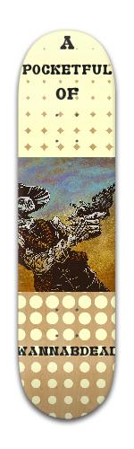 Deathwish Similarity Board Banger Park Skateboard 8 x 31 3/4