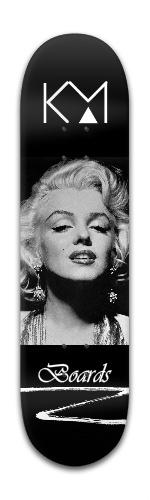 'Marilyn' Series Board Banger Park Skateboard 8 x 31 3/4