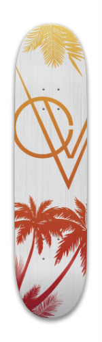 California Brush (Wood Texture) Park Skateboard 8 x 31.775