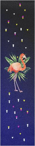 Flamingo ! Custom longboard griptape