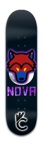 Nova alt (Certifam) Park Complete Skateboard 8 x 31 3/4