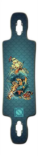 Siren of the Sea Gnarlier 38 Skateboard Deck v2