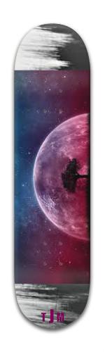 Moon Banger Park Skateboard 8 x 31 3/4