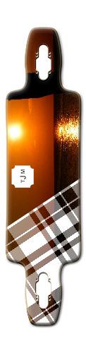checkered sunset Splinter 38 Fiber Lam (9.75 x 38)