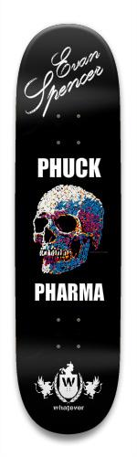 Evan Spencer - Phuc Pharma Park Skateboard 8.5 x 32.463