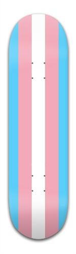 Trans Pride Banger Park Skateboard 8.5 x 32 1/8