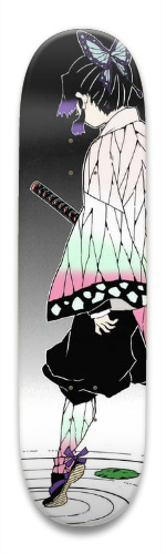 Shinobu Demon slayer Park Skateboard 9 x 34