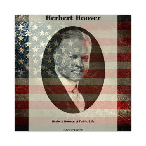 Herbert Hoover USA Sticker 4 x 4 Square