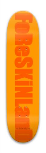 orange Park Skateboard 7.88 x 31.495