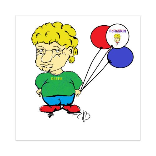FoReSKiN Deere Sticker 4 x 4 Square