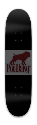 PoolDawg Pool Park Skateboard 7.88 x 31.495