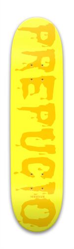 Prepucio,foreskin,spanish Park Skateboard 7.88 x 31.495