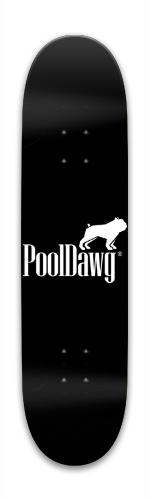 PoolDawg Park Skateboard 7.88 x 31.495