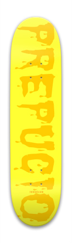 prepucio foreskin spanish Park Skateboard 7.88 x 31.495