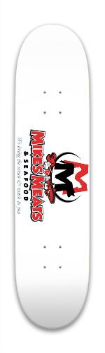 Mikes Meats Park Skateboard 7.88 x 31.495