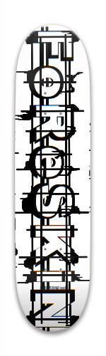 Foreskin/foreskinland Park Skateboard 7.88 x 31.495