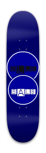 Blue Bals Park Skateboard 7.88 x 31.495